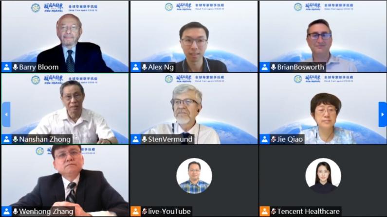 美中专家探讨抗疫战略 耶鲁公共卫生院长:中国分享了有价值的经验