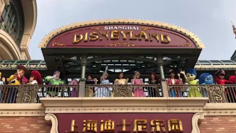 上海迪士尼重新开园 全球首家