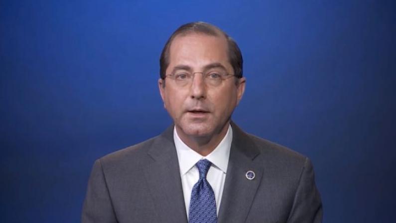 美国卫生部长世卫大会视频致辞 撂下这些狠话