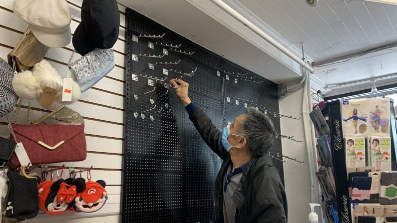 【实拍】旧金山华埠零售业重开首日 华人业主:前景迷茫