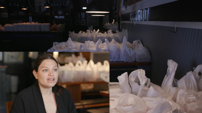 从解雇九成员工 到每周送18000份餐 疫情中重创餐馆如何自救?