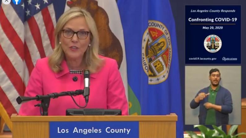 洛杉矶确诊数破四万 疫情致逾百万人失业