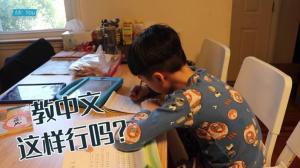 【纽约老尤】我这样教儿子中文,有效果吗?
