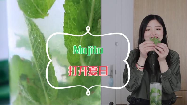 【索菲亚一斤半】来一杯MOJITO 把夏天喝进肚子