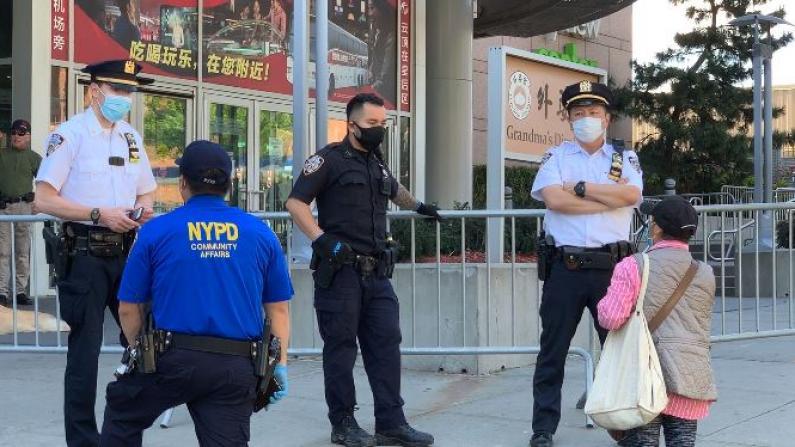 纽约法拉盛爆抗议劫掠传闻华人关店 刘醇逸:族裔矛盾非裔才是受害者