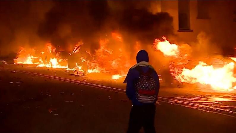 抗议引发骚乱愈演愈烈 全美逾20城宵禁15州动员国民卫队