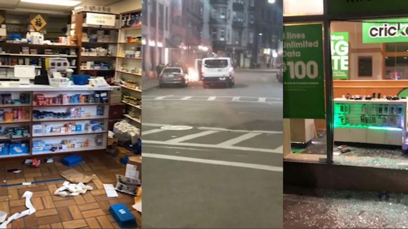 【实拍】暴乱后的波士顿怎么样了?华埠也难逃洗劫…