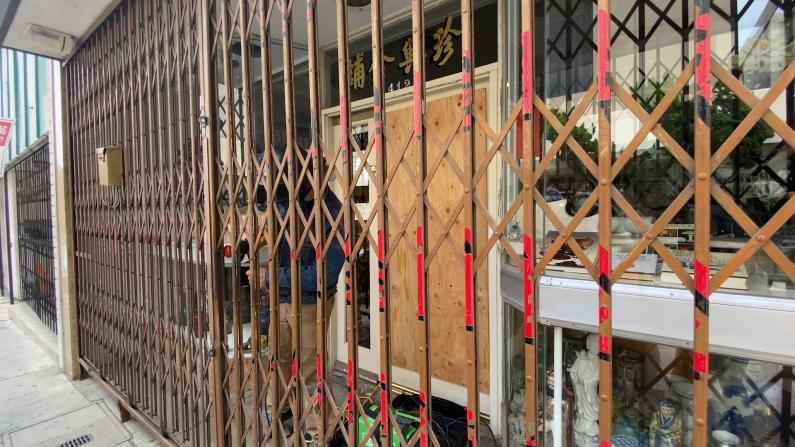 洛杉矶华埠多家店铺遭砸抢 真实原因是……