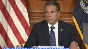 """纽约州长库默给所有游行示威者提供这项""""福利"""""""