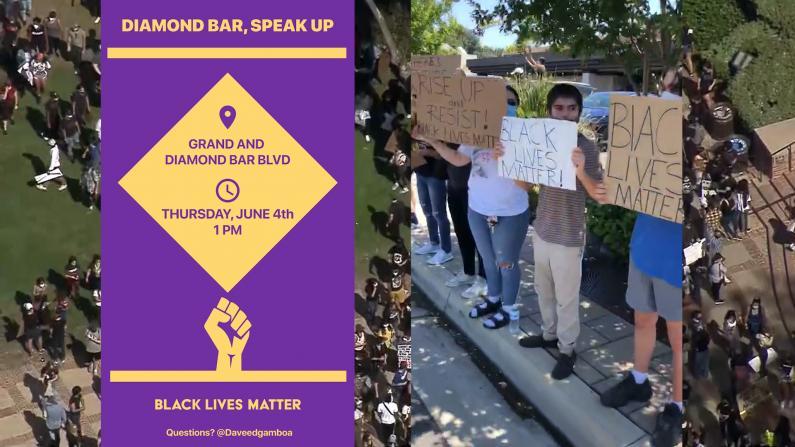 洛杉矶抗议仍在继续 多个华人城市爆发游行