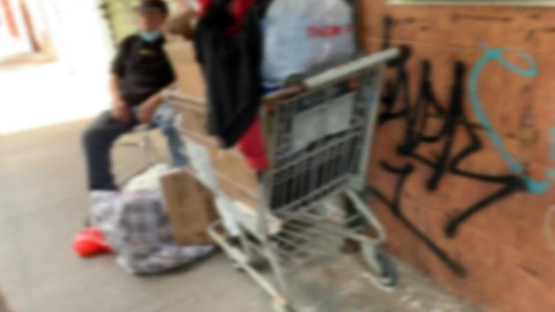 被感染被踢打 疫情下华裔游民的生存困境