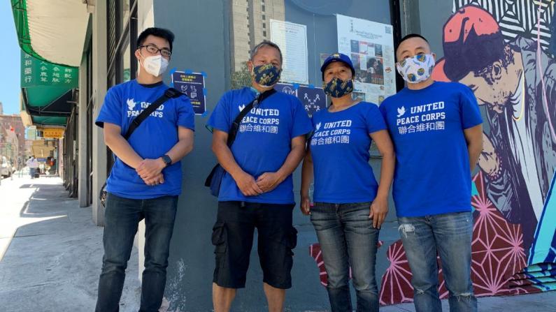 旧金山华裔退伍军人志愿巡逻 商家感叹华埠变安全