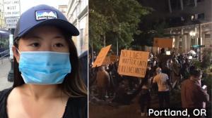 【慧说中文】被洗劫后的波特兰:暴力痕迹还在 抗议趋于和平