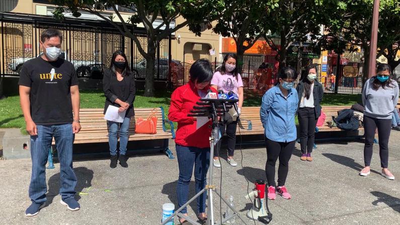 旧金山亚裔组织呼吁和平正义 华埠居民讲述暴乱病毒双重阴影