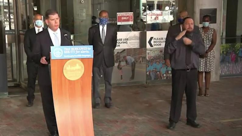 波士顿宣布种族主义为公共卫生危机 拨20%警察预算给社区