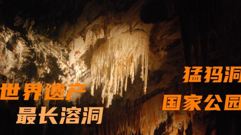 【老韩唠车】跟老韩逛世界最长的溶洞 猛犸洞国家公园