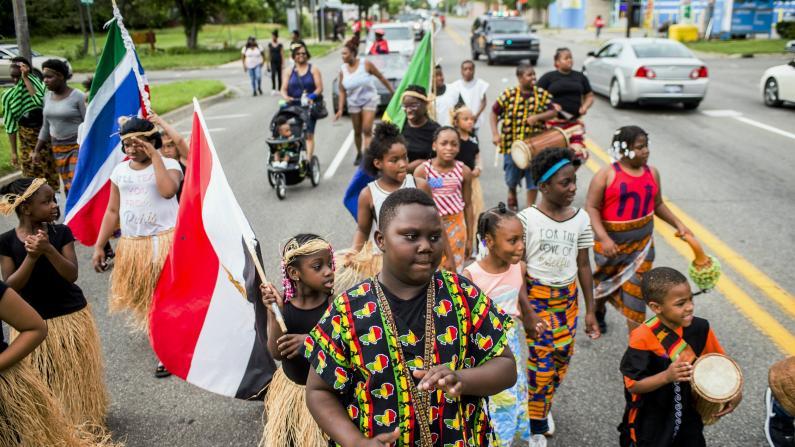 """全美多地6/19举行""""六月节""""活动,纪念非裔奴隶解放"""