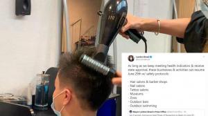 终于可以剪头发!旧金山美容美发等行业下周一重开