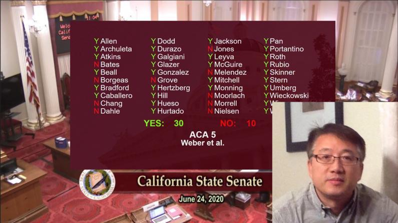 加州争议法案ACA5挤进11月公投 湾区华人:失望与欣慰并存