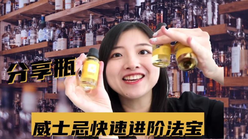 【索菲亚一斤半】如何花一瓶的钱 喝到十几种威士忌?