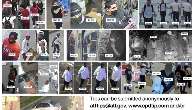 芝加哥打砸抢后续 警方公布纵火犯信息