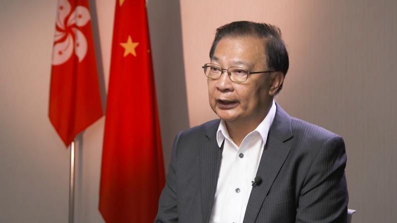 """谭耀宗:香港国安法保障""""一国两制""""继续实施"""