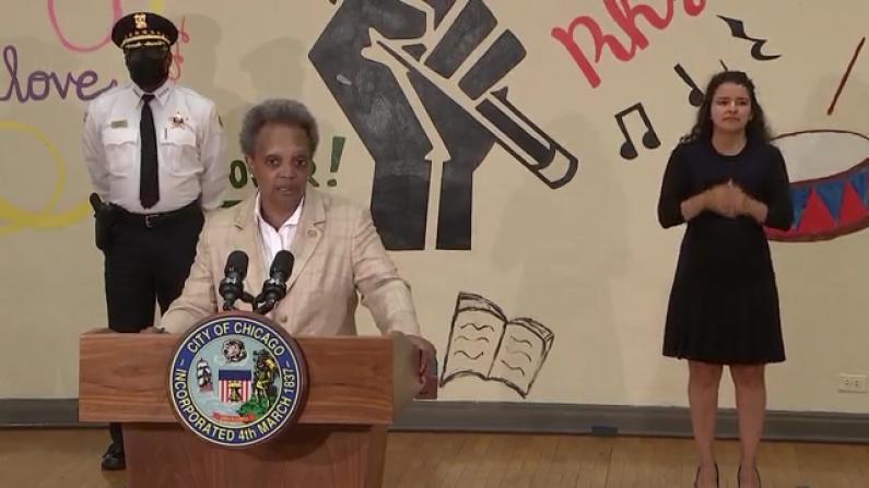 芝加哥市长警告酒吧餐厅:要是违规,就关闭