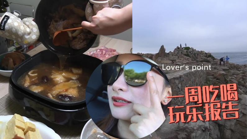 【湾区毛毛】花胶鸡、小龙虾,一礼拜吃喝不重样!带柯基自驾游!