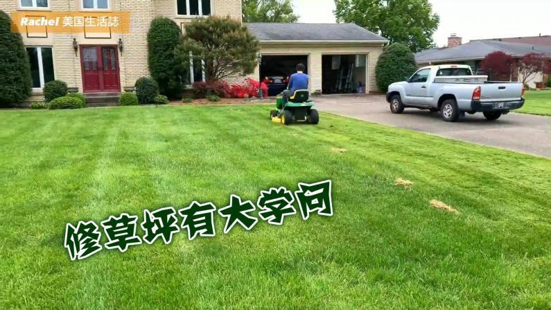 """【Rachel生活志】""""地主""""成长笔记:修剪养护草坪学到的功课"""