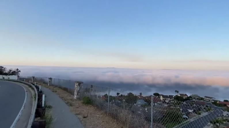 【色影无忌】从城市开一个多小时车 就能看到这么壮观的云海!