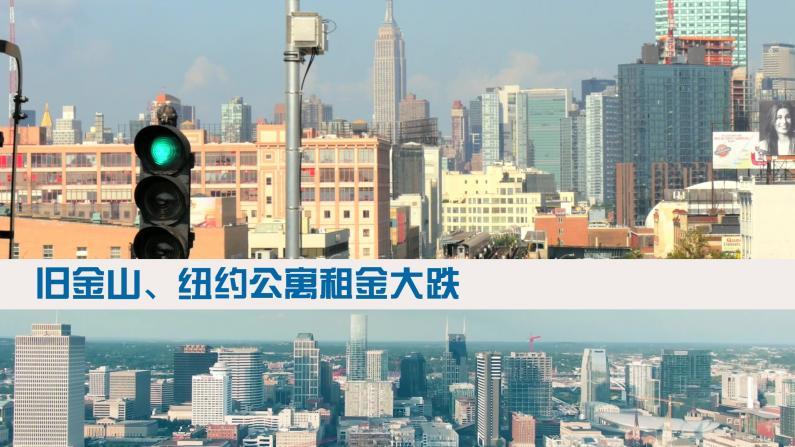 【Kevin的房产哲学】旧金山、纽约公寓出租、房价遭遇罕见跌幅