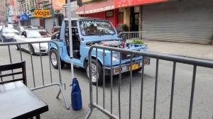 【Derek在纽约】华埠街巷更方便户外用餐了丨偶遇改装车的拉风聚会