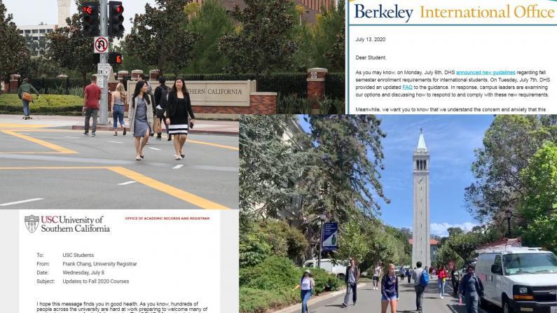 川普政府撤销留学生签证规定 加州中国留学生:松了一口气