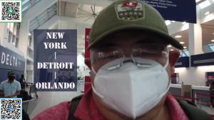 【佛州生活】疫情期从纽约回奥兰多 途经底特律 聊聊一路见闻感想