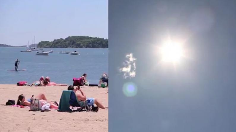 """""""感觉我在太阳上""""新英格兰地区高温紧急状态 波士顿热浪难耐这样防控疫情"""