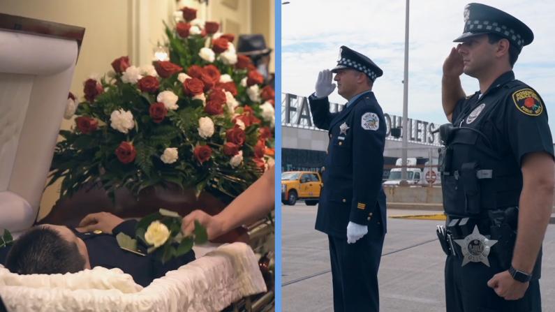 36岁华人警员死亡 市警局制作影片回忆