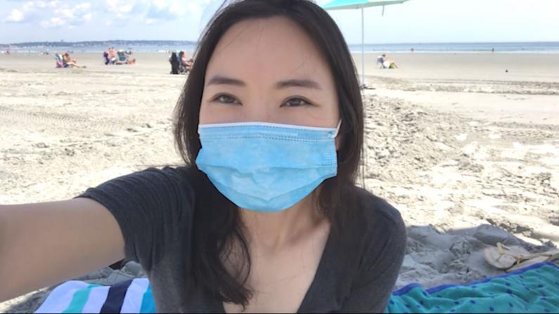 现在海滩安全吗?是否人满为患?实拍麻州海滩告诉你...