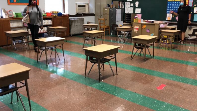 芝加哥学校复课一周五天 都做了哪些准备?