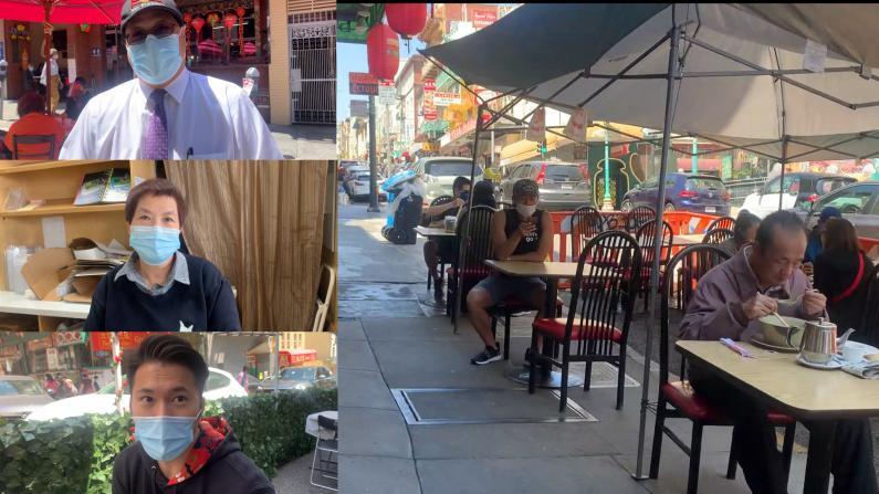 【探访】商家户外摆摊挽生意 旧金山华埠收效如何?
