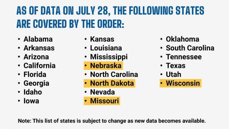 芝加哥确诊量持续上升 旅行隔离令增至22州