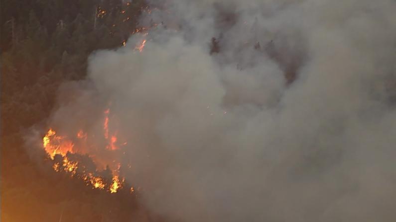 南加山火狂烧2.6万英亩 仅5%火势控制