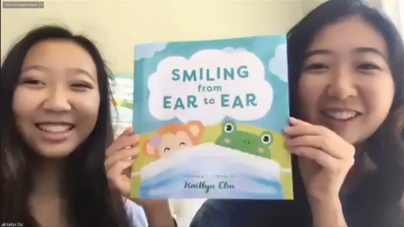 """USC华生创作趣味儿童书 """"让孩子不再害怕口罩"""""""