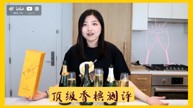 【索菲亚一斤半】$300香槟比不过平价的?各类香槟大测评!