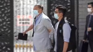 被指寻求外国制裁封锁香港 黎智英等10人涉违国安法被捕