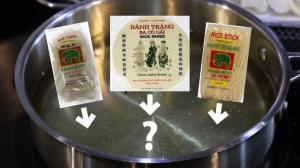 【心机厨房】把越南河粉丢进油锅里 会发生什么?
