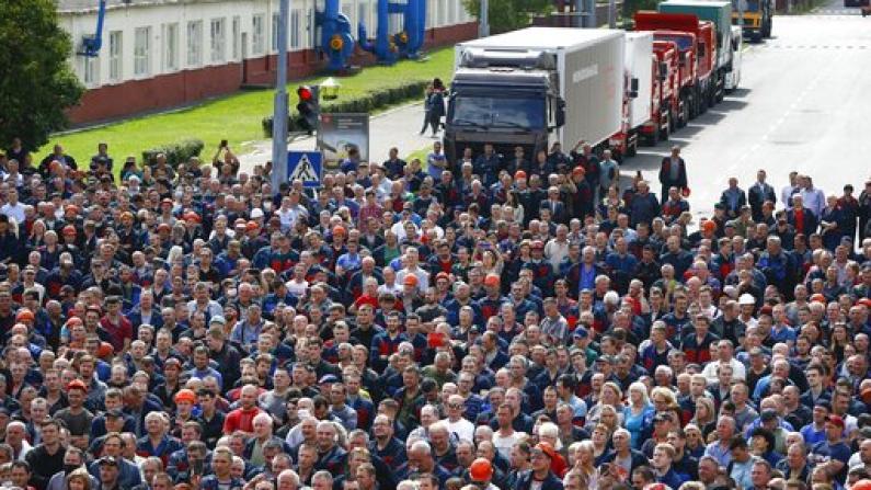 不满大选结果 白俄罗斯抗议持续多日 数千人被捕