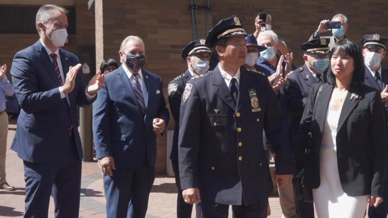 纽约市警三星警司陈文业荣休 回忆38年从警生涯