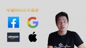 【硅谷生活】2020年四大顶级科技公司薪水大比拼!