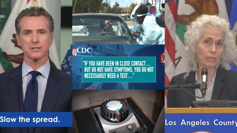 CDC不再推荐无症状者检测 加州呛声:不会采纳