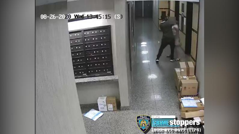 86岁老妇曼哈顿公寓大堂等电梯 竟遭男子强行扯下$2000项链